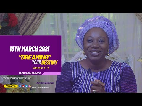 Dr Becky Paul-Enenche - SEEDS OF DESTINY  THURSDAY MARCH 18, 2021