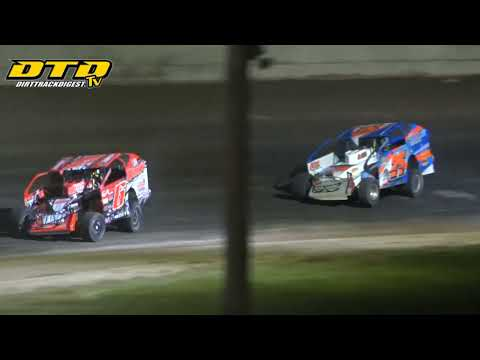 Ransomville Speedway | DIRTcar 358-Modified Feature Highlights | 8/6/21 - dirt track racing video image