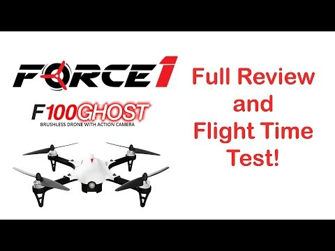 F100 Ghost Drone Review & Flight Time Test - UCj8MpuOzkNz7L0mJhL3TDeA