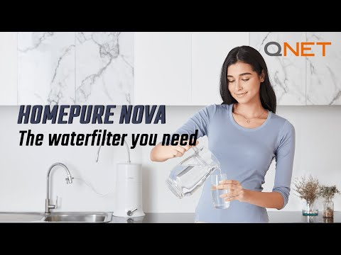 HomePure Nova by QNET | The Best Water Filter For Your Home and Family