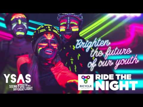 Ride the Night 2017 - meet Geoff from YSAS