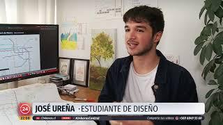 Joven crea mapa integral del transporte público de Santiago
