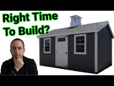 ► It's Finally Happening!!! Intro to Building a Shed and Why I Waited So Long