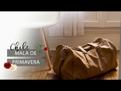 O que trazer pra Santiago na MALA DE PRIMAVERA | Pigmento F