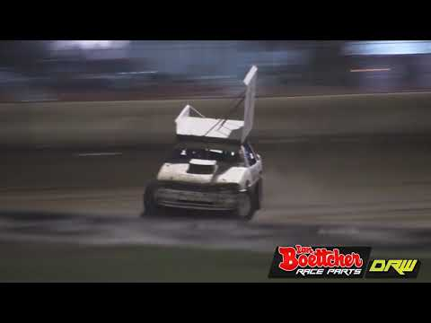 Super Stockers - A-Main - Rockhampton Speedway - 04.11.17 - dirt track racing video image