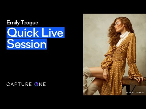 Capture One 21 | Quick Live - Creative editing with Emily Teague