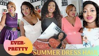 SUMMER DRESS HAUL FT EVERY-PRETTY.CO.UK