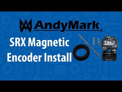 SRX Magnetic Encoder Installation