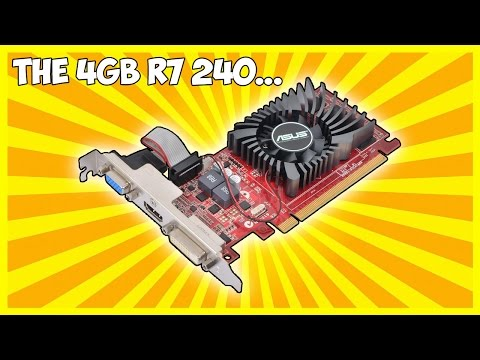 Why You Should Avoid The $80 4GB R7 240