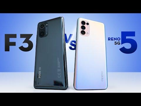 POCO F3 đã về nhiều hàng! Còn đáng mua không hay chọn Oppo Reno5 5G?