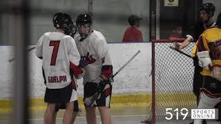 Minor Lacrosse (Midget) - K-W Braves vs Guelph Regals