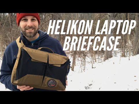 Helikon-Tex Laptop Briefcase: Sleek Design for A Minimalist Approach