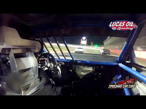 #00 Nick Bradshaw - USRA Tuner - 10-8-2021 Lucas Oil Speedway - In Car Camera - dirt track racing video image