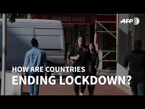 End of lockdown - how are countries adjusting? | AFP photo