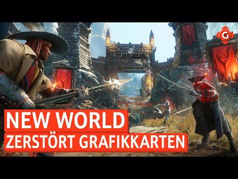 New World: Probleme mit Grafikkarten! Skull & Bones: Alpha-Status erreicht! | GW-NEWS