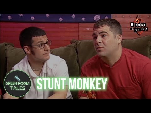 Stunt Monkey discuss Napster and Internet Discovery | Green Room Tales