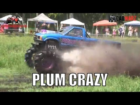 PLUM CRAZY Chevy Mega Truck Mudding At Perkins Summer Sling Mud Bog 2018