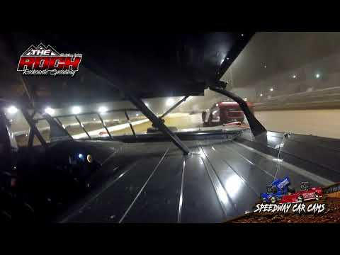 #317 Mike Bargo - Crate Late Model - Rockcastle Speedway - InCar Camera - dirt track racing video image