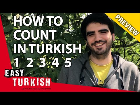 Numbers in Turkish (PREVIEW) | Super Easy Turkish 10 photo