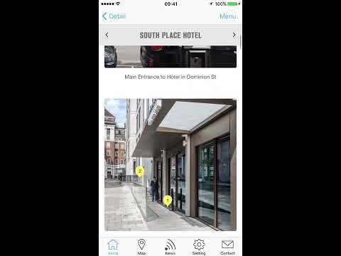 Blue Badge Style iTunes App Demo - How to Find Accessible Venues Across Europe