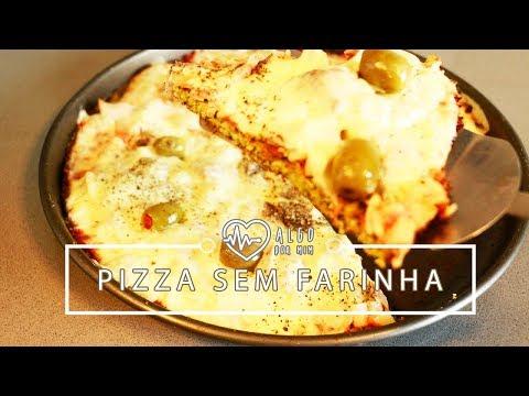 Pizza SEM Farinha (LowCarb) | Pigmento F