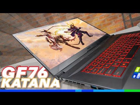 Phẫn nộ về RTX 3050?  - MSI GF76 Katana
