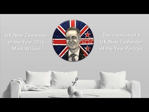 Waitangi Day - Mark Wilson UK New Zealander of the Year Portrait 2016 Movie