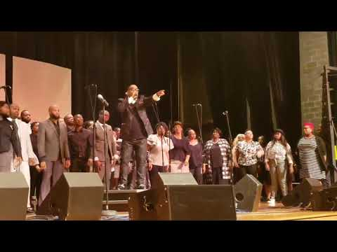 #ICYMI Gospel Ensemble performs with National Recording Artist Kurt Carr