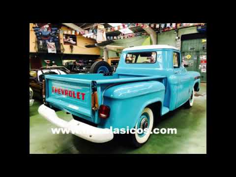 MM CLÁSICOS CHEVROLET APACHE 31 STEPSIDE 1959