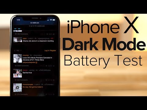 Dark Mode on iPhone X VASTLY improves battery life! - UCUUNkL6Wke6i0P6funa7wdQ