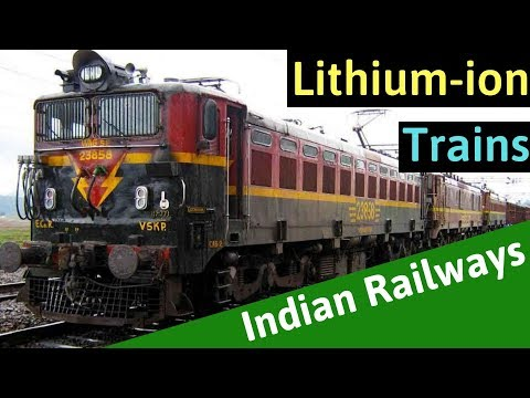 Lithium-ion Battery Powered Trains from Indian Railways - EV Special