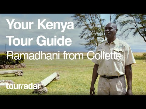 Your Kenya Tour Guide Ramadhani Hussein from Collette