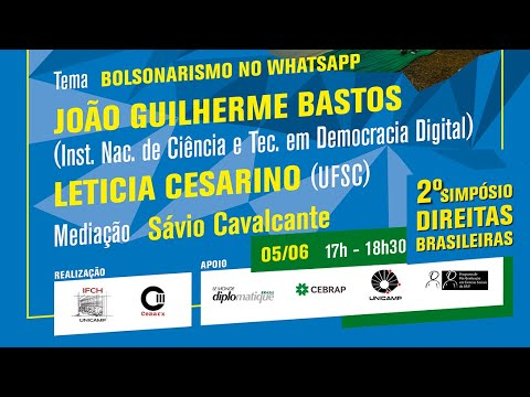 Sessão 9 do 2º Simpósio Direitas Brasileiras - Bolsonaro no Poder
