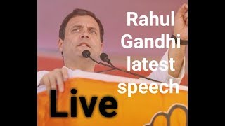 Rahul Gandhi Speech LIVE: After Priyanka Gandhi, Congress Chief Addresses a Rally