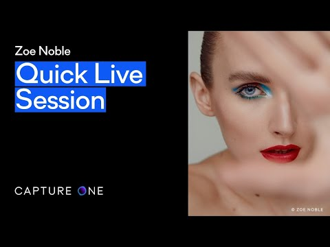 Capture One 21 | Quick Live - Color grading with Zoe Noble