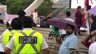 India Independence Day Celebrations in Toronto Canada 2019 Panorama