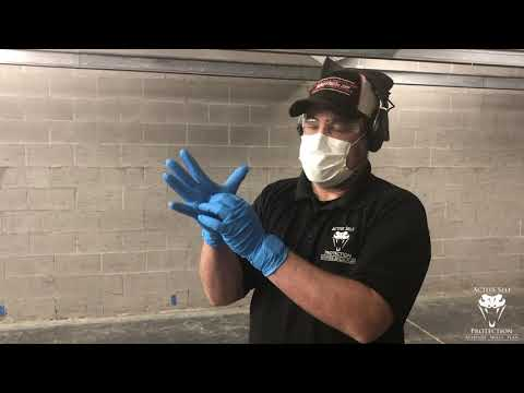 Shooting While Wearing Gloves