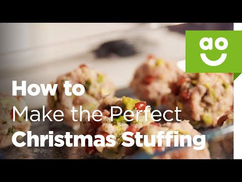 How to Make the Perfect Christmas Stuffing with Bosch | ao.com Recipes