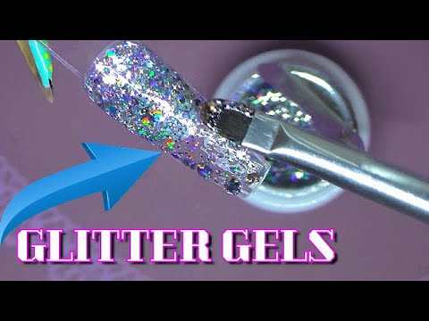 Testing Out Amazon Glitter Gels | ModelOnes | ABSOLUTE NAILS
