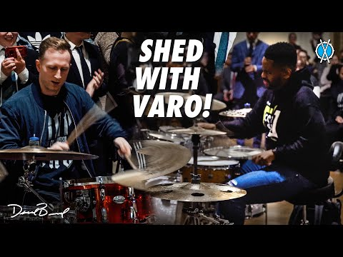 I got to shed with VARO!!!! (and a bunch of other incredible musicians!)