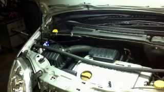 Smontare filtro abitacolo Opel Meriva A