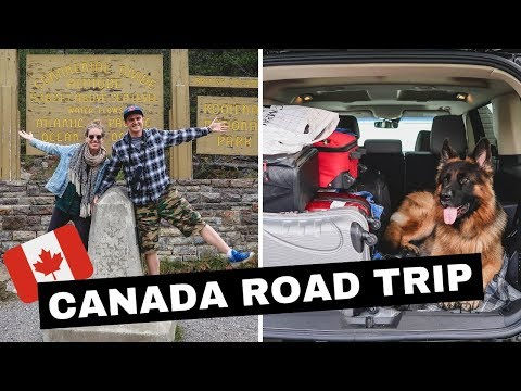 Canada Road Trip Vlog | Driving from Ontario to British Columbia