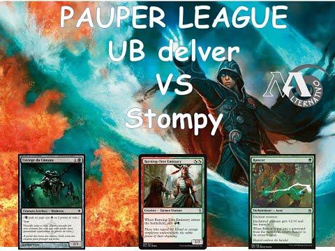 Pauper League  R3 Ub Vs Stompy