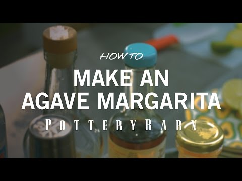 How to make an Agave Margarita