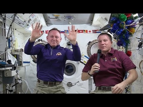 How NASA astronauts celebrate Christmas in space - UC-SJ6nODDmufqBzPBwCvYvQ