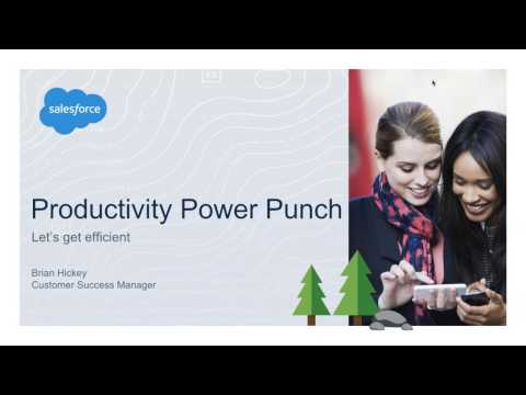 Productivty Power Punch