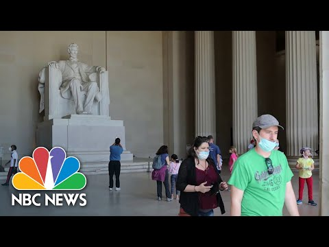 How D.C. Is Reacting To CDC's New Mask Guidance | NBC News