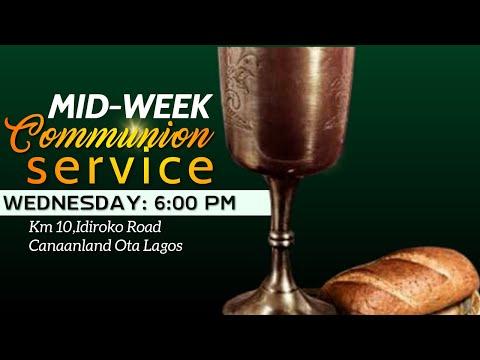 MID-WEEK COMMUNION SERVICE  8, SEPTEMBER  2021 FAITH TABERNACLE