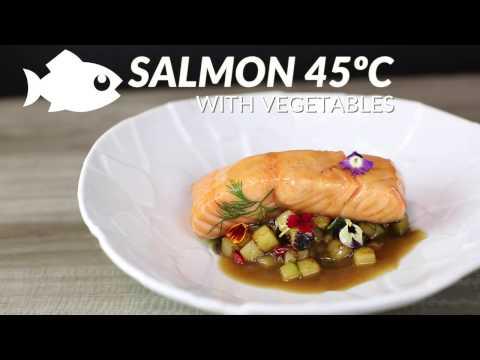Salmon 45 con verduras