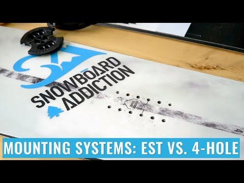 Mounting Systems: EST vs. 4-Hole
